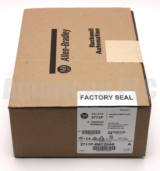 SALE! Allen Bradley 2711P-B6C20A8 /A PanelView Plus 600 | 1